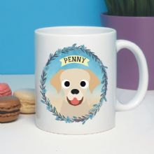 Personalised Dog Mug - Labrador, Golden Retriever, Border Collie, German Shepherd - Ideal Pet gift for a dog owner